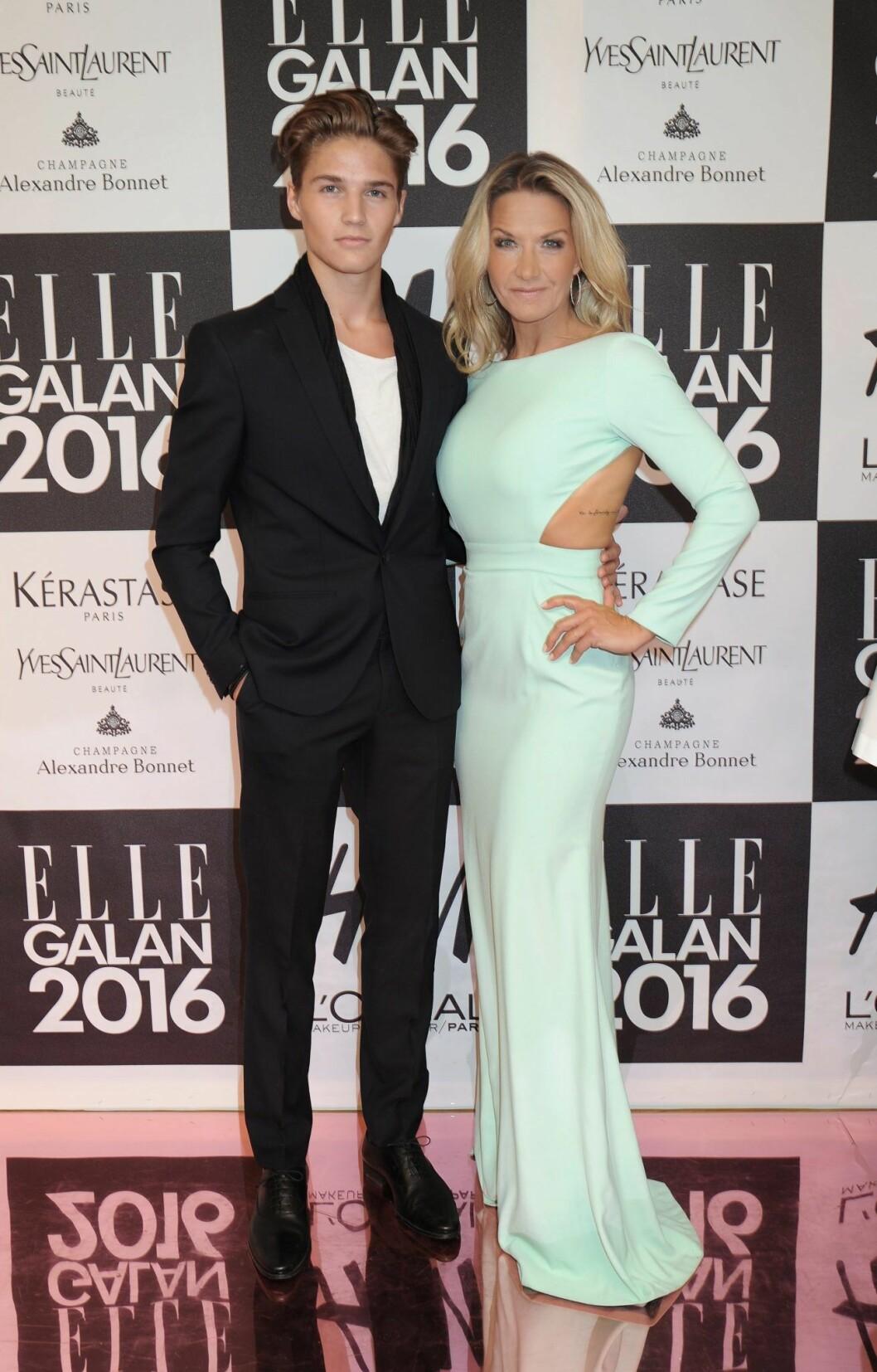 Filip Lamprect och Kristin Kaspersen