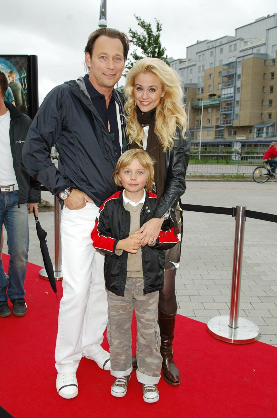 Johanna Lind och sonen Daniel