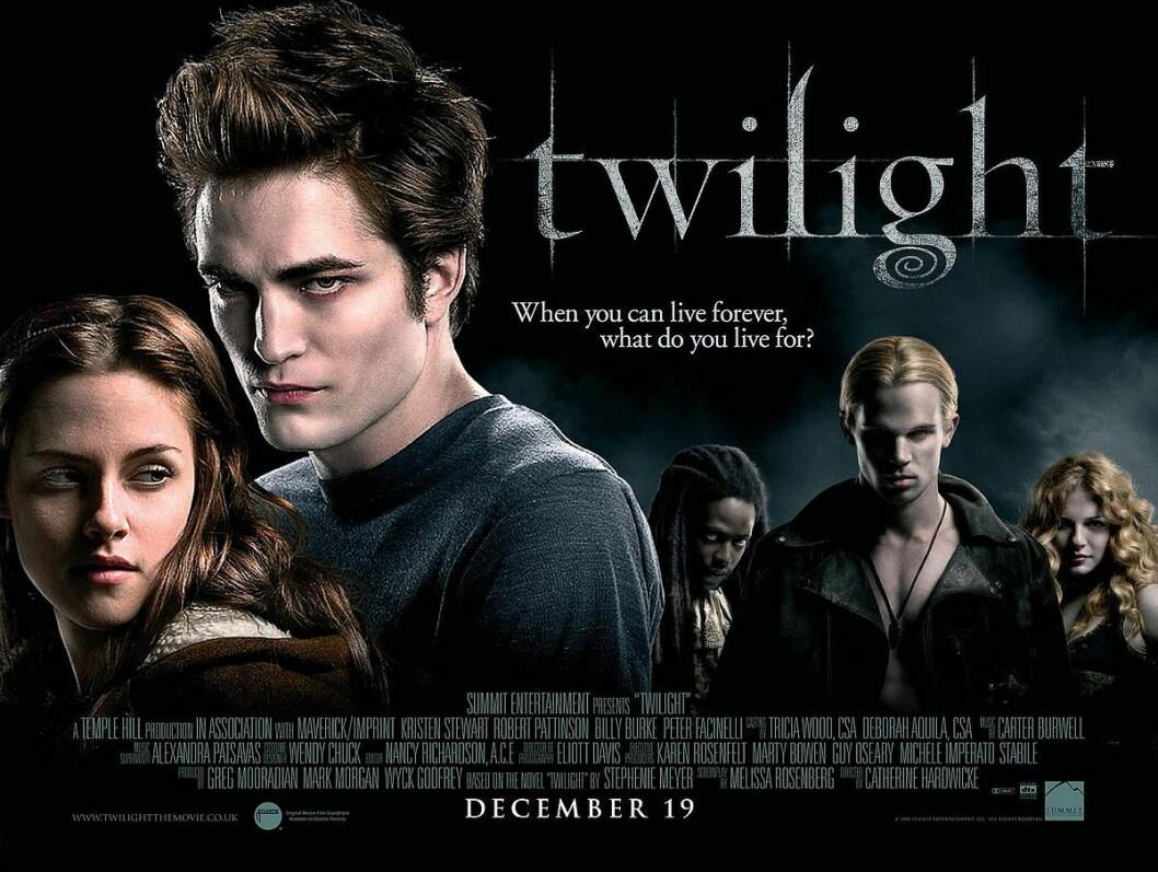 Gregory hade en liten men viktig roll i den första Twilight-filmen.