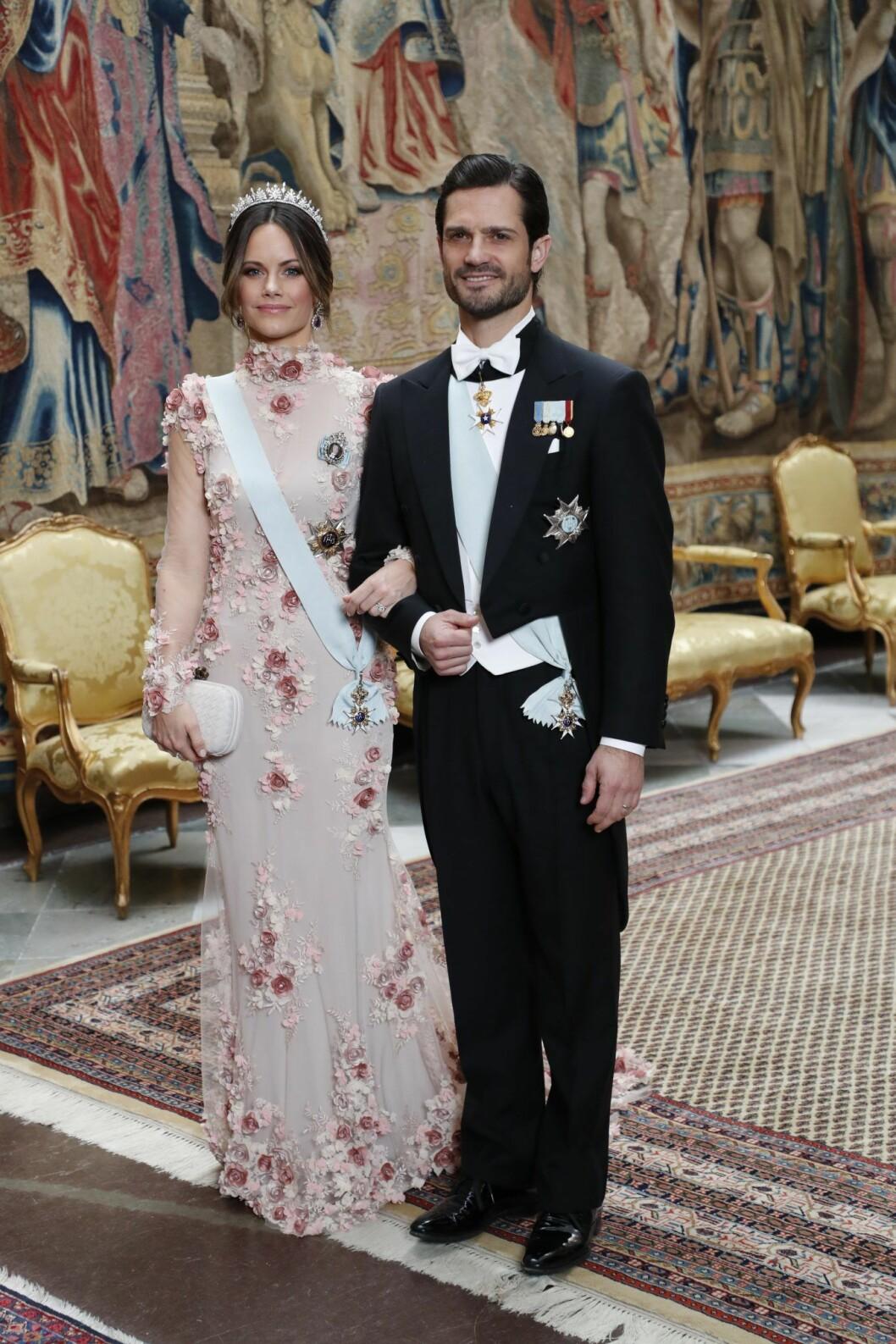 Prinsessan Sofias klänning Nobelmiddagen 2019