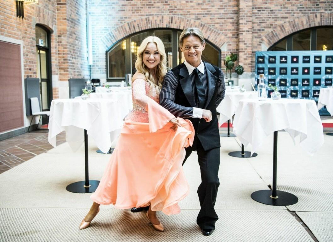 Mikael Sandström och Malin Watson