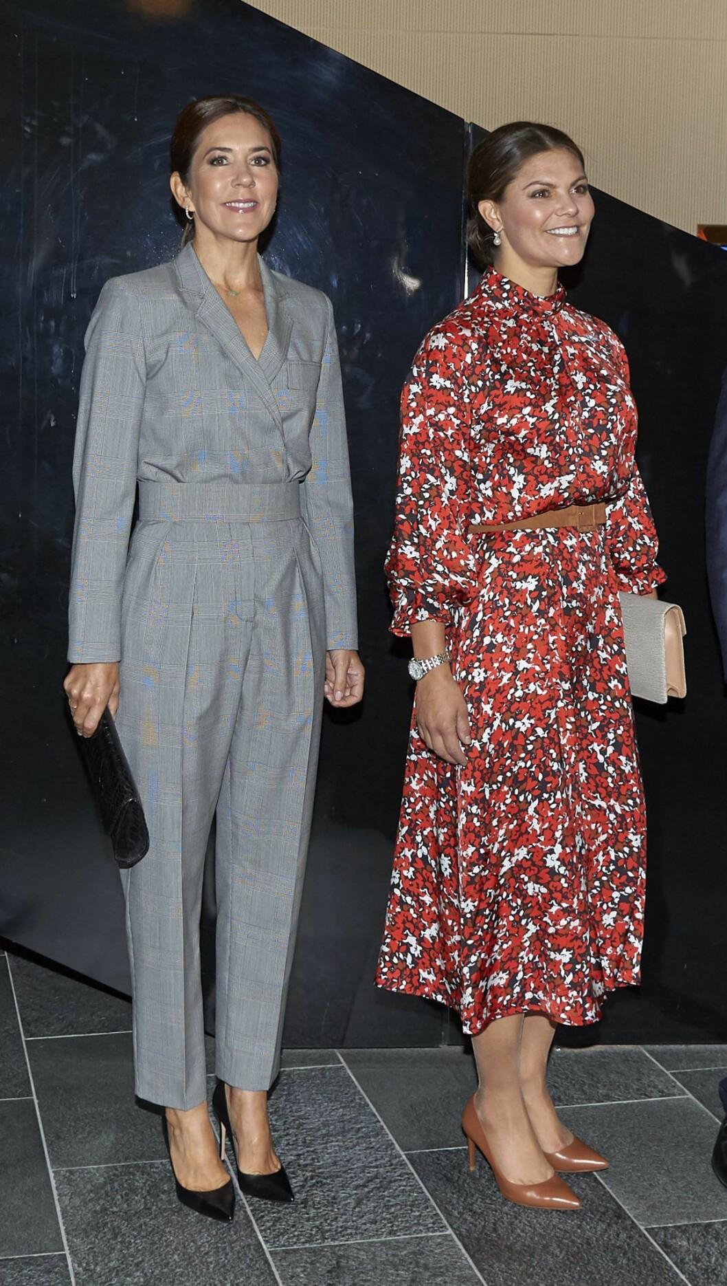 Kronprinsessan Victoria och MAry