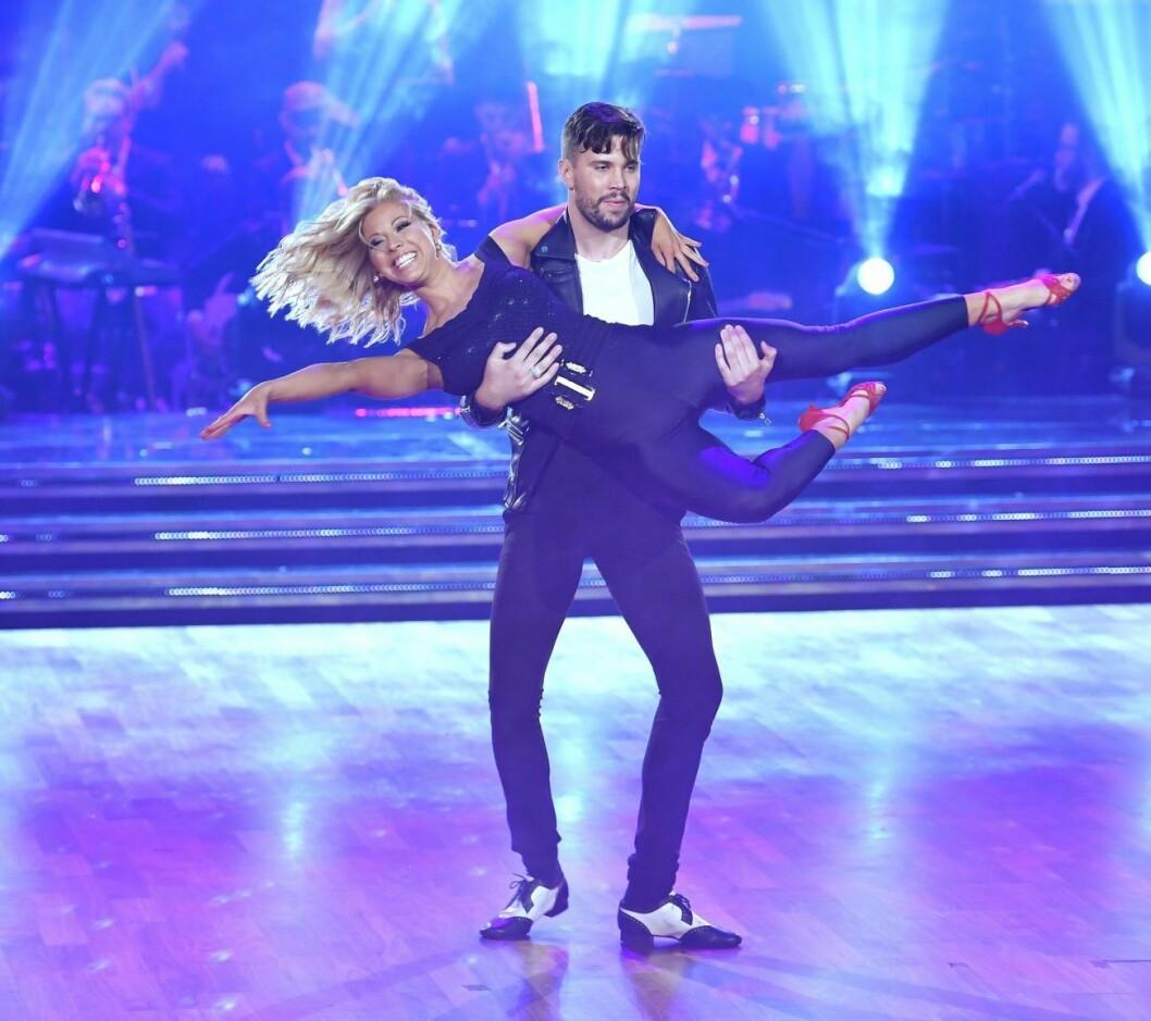 Sigrid Bernson och Robin Bengtsson träffades under Let´s Dance.