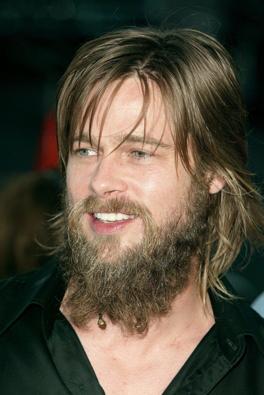 Brad Pitt med skägg...