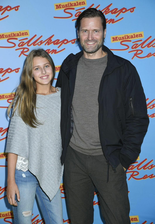 Martin Melin och dottern Fanny