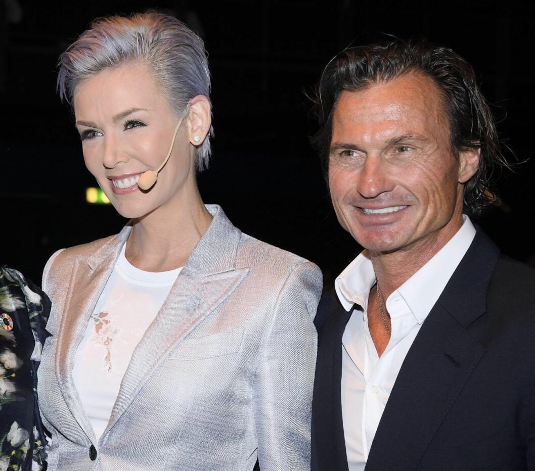 Gunhild och Petter Stordalen är fortfarande vänner efter skilsmässan.