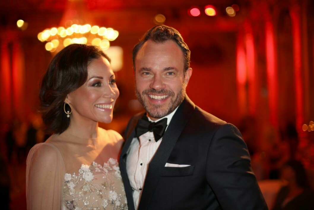 Kollegor och vänner: Tilde de Paula Eby och David Hellenius leder Let´s dance även i år.