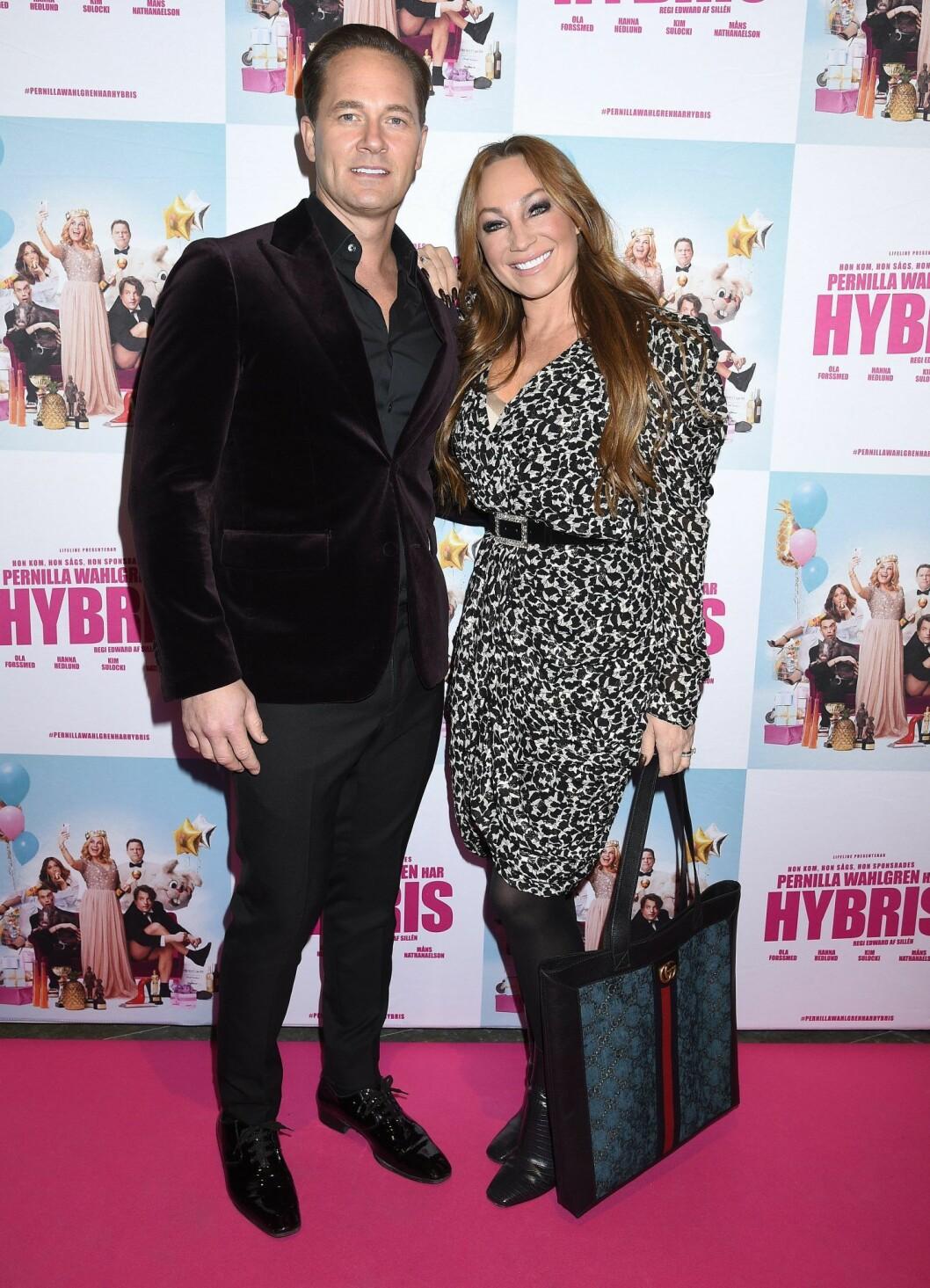 Anders Jensen och Charlotte Perrelli gifte sig för fem år sedan.