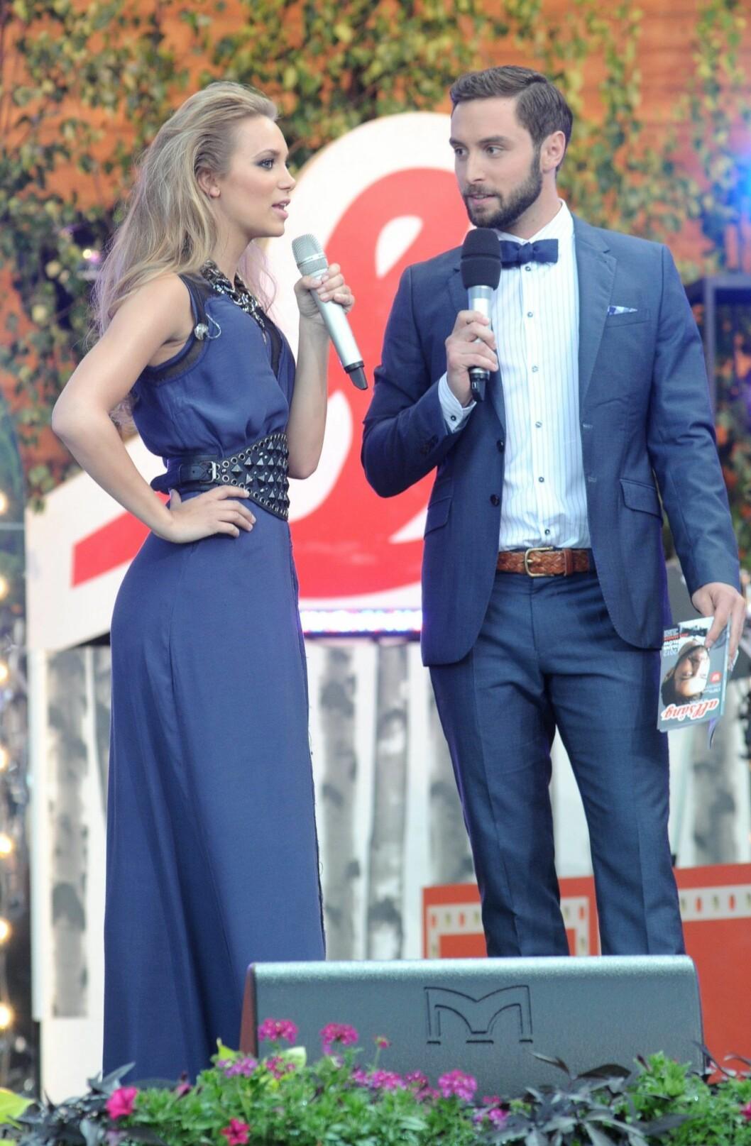 Agnes Carlsson och Måns Zelmerlöw