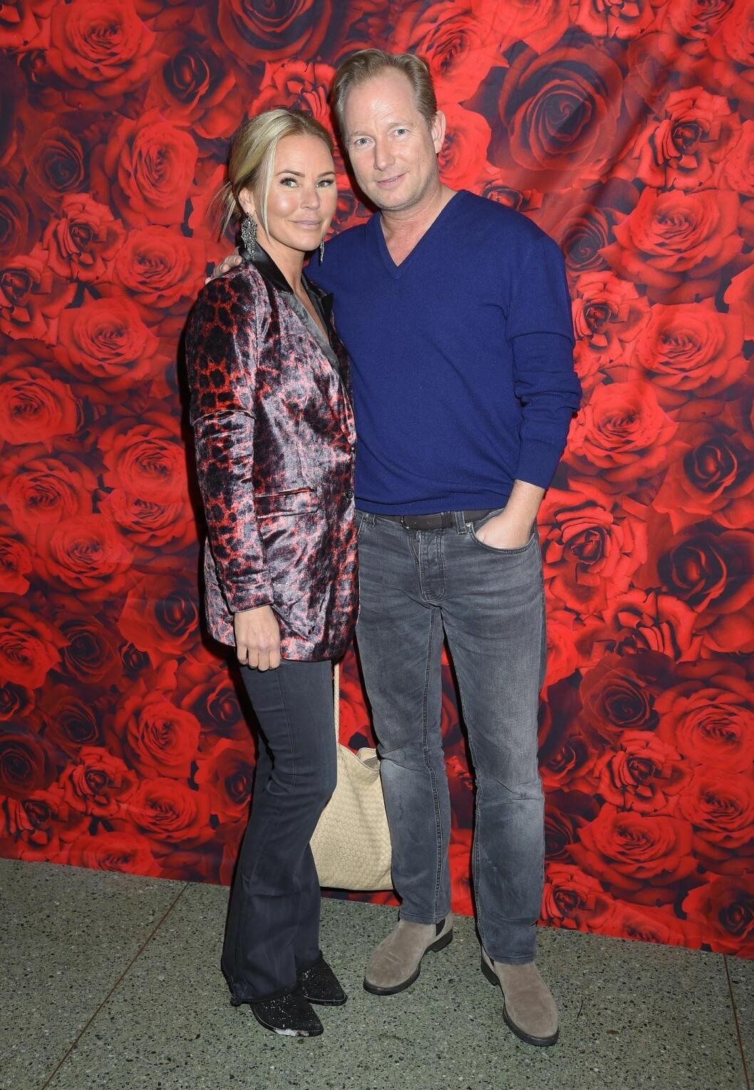 Magdalena Graaf och Filip Larsson har varit tillsammans i tio år.