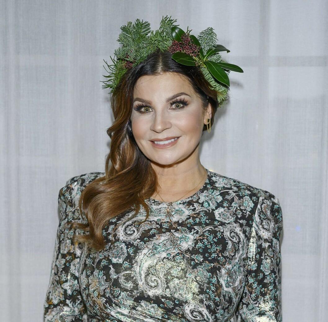 Carola Häggkvist gjorde i december sin traditionsenliga julkonsert.