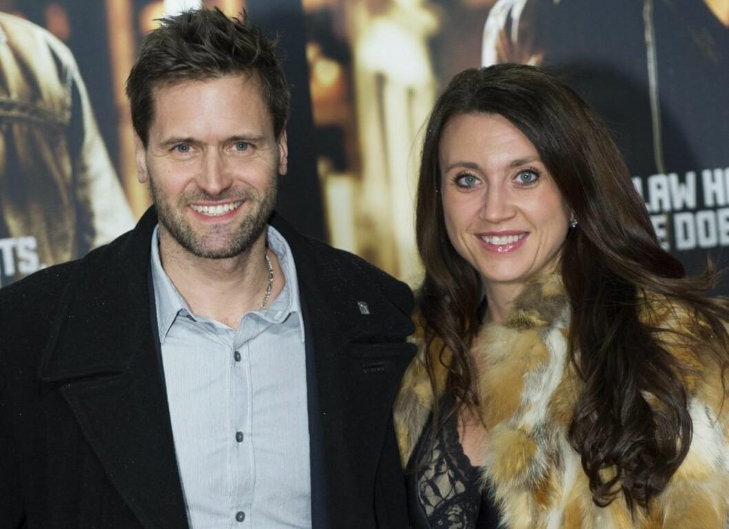 Martin Melin och Camilla Läckberg