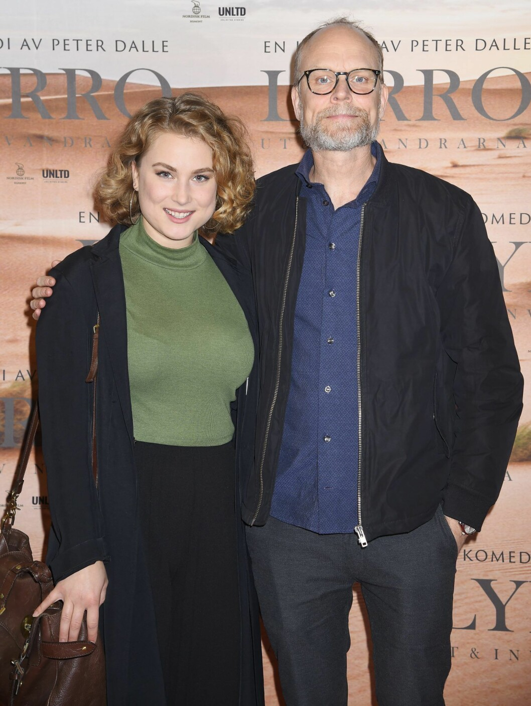 Kristian Luuk med dottern Smilla för två år sedan.