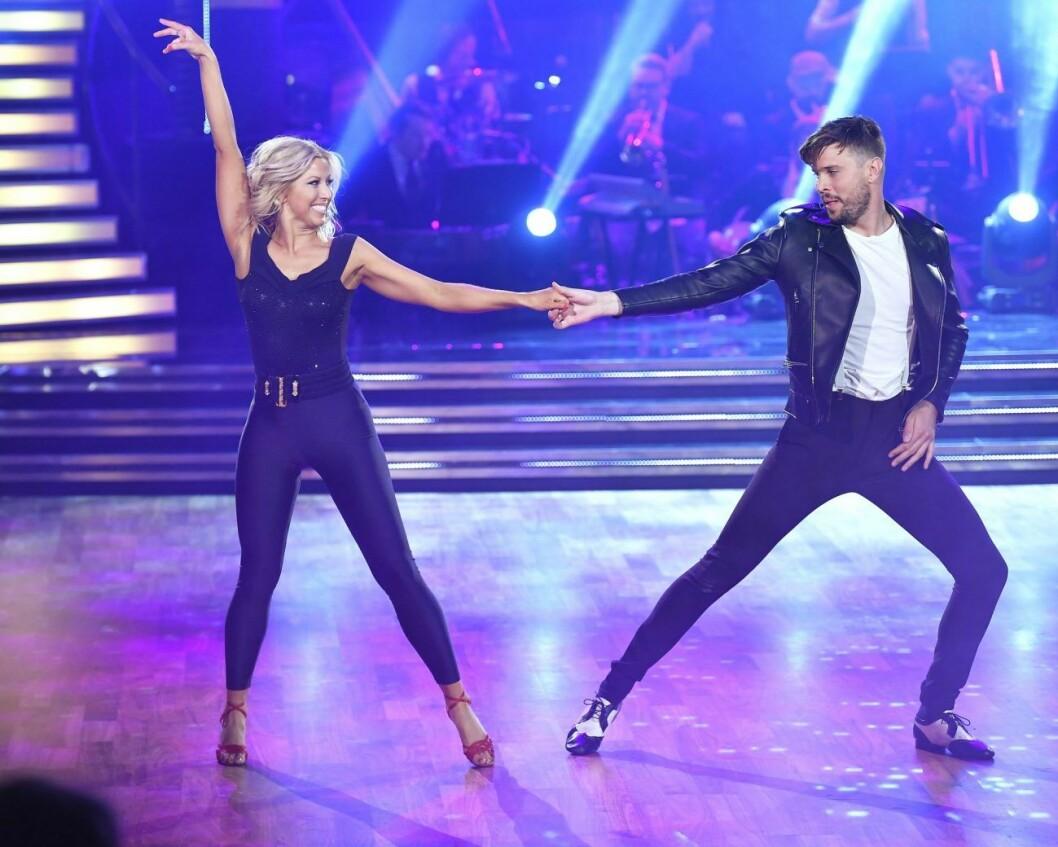 Robin Bengtsson och Sigrid Bernson fann varandra under inspelningen av Let´s dance i TV4.