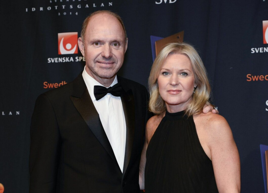 Thomas Ravelli och hans fru