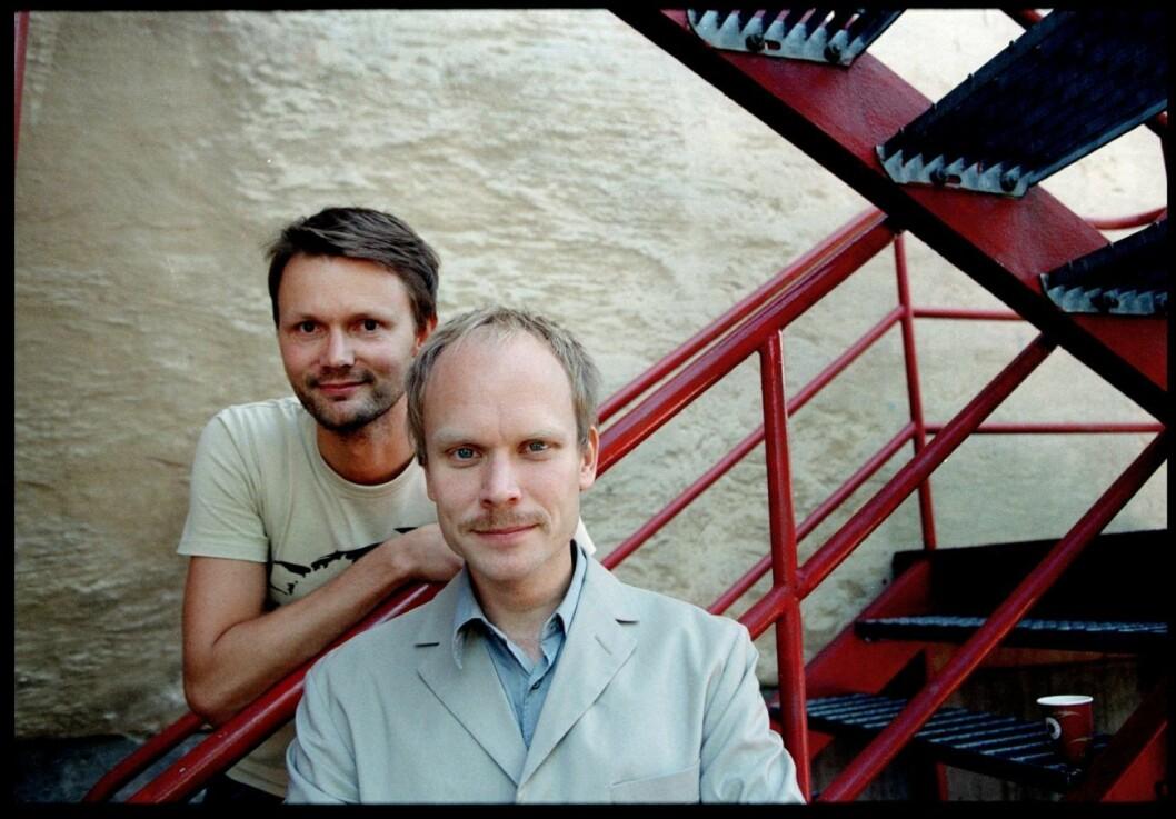 Felix Herngren och Kristian Luuk