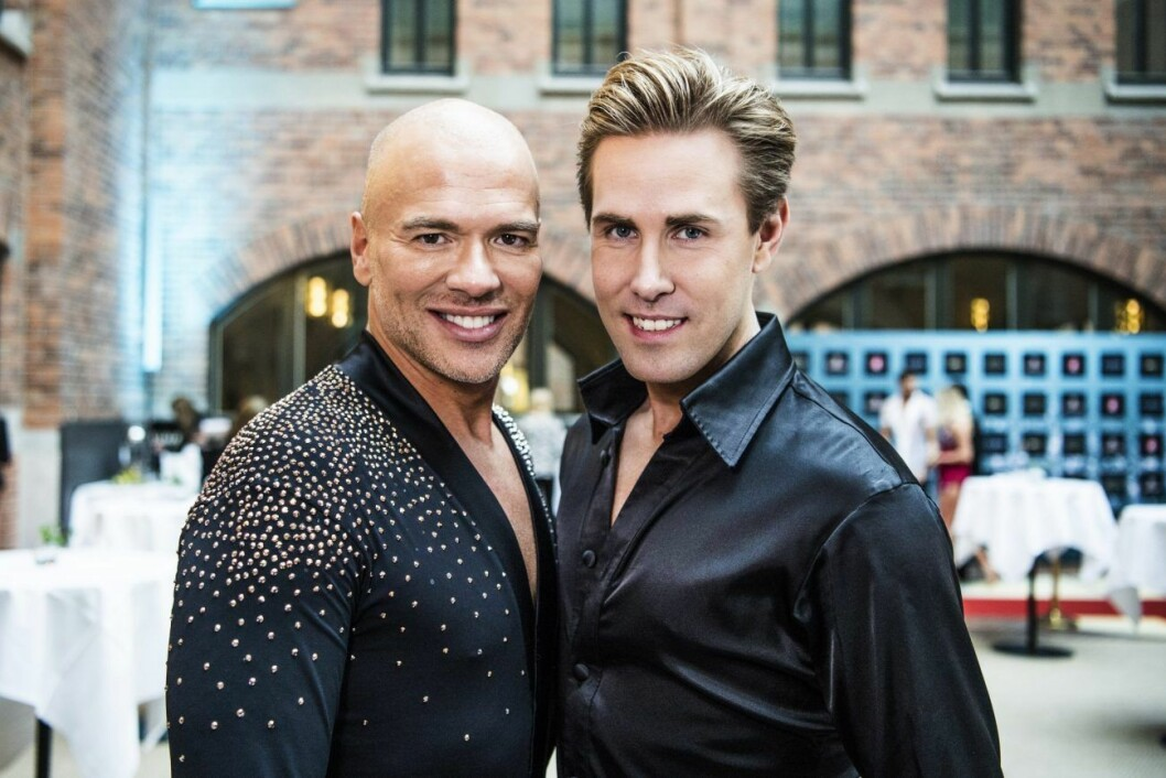 Andreas Lundstedt och Tobias Bader