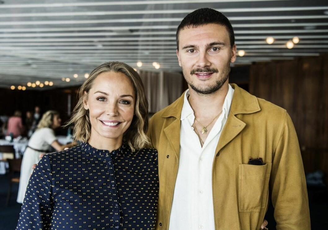 Carina Berg och maken Erik fick sonen Otto i december förra året.