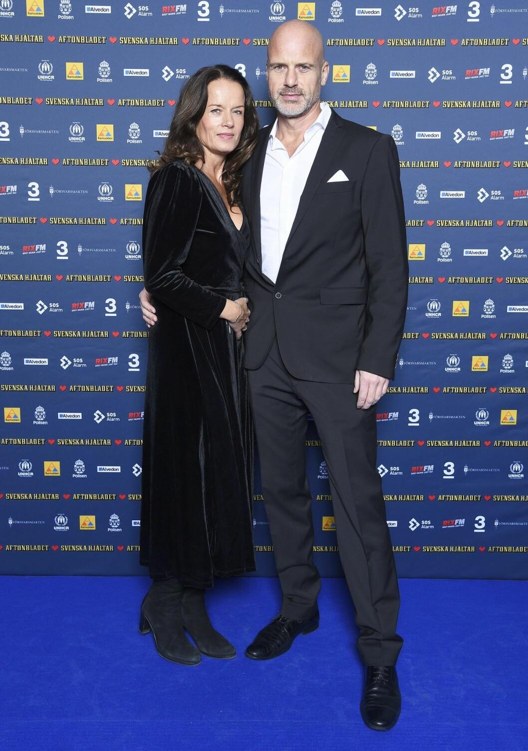Malin Berghagen och Martin Charlton förlovade sig förra våren.