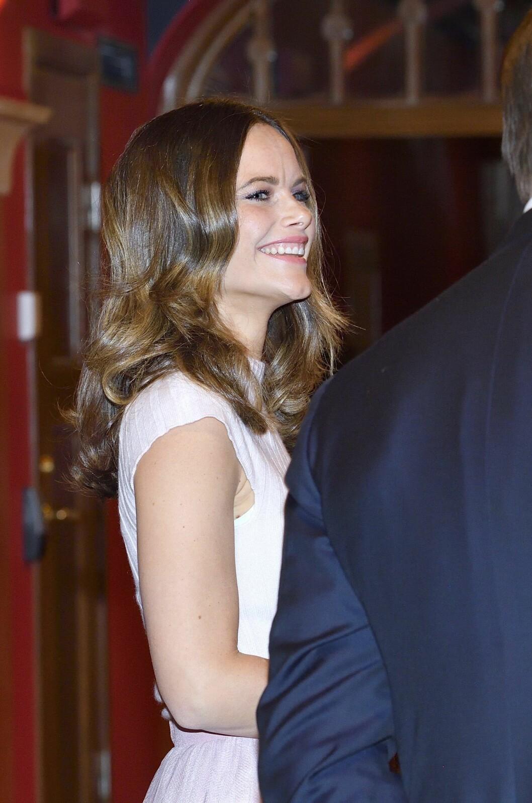 Prinsessan Sofia har ofta håret utsläppt – vilket har dolt födelsemärkena på kinden.