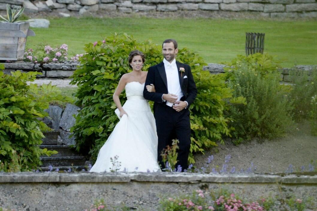 Jonas Bergström och Stephanie gifte sig 2013.
