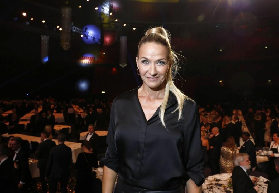 I januari var Kristin Kaspersen programledare för Idrottsgalan.