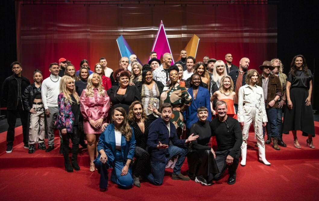 Alla tävlande artister i Melodifestivalen 2020