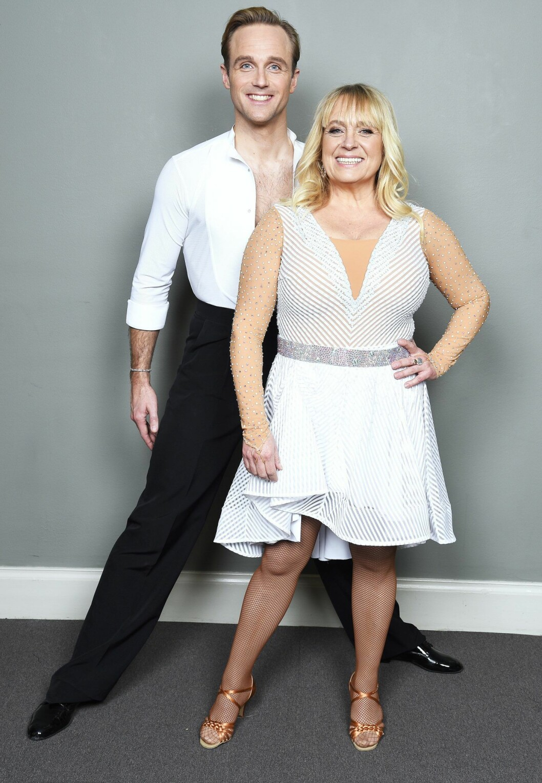 Calle Sterner och Sussie Eriksson charmade juryn i fredagens Let´s dance.