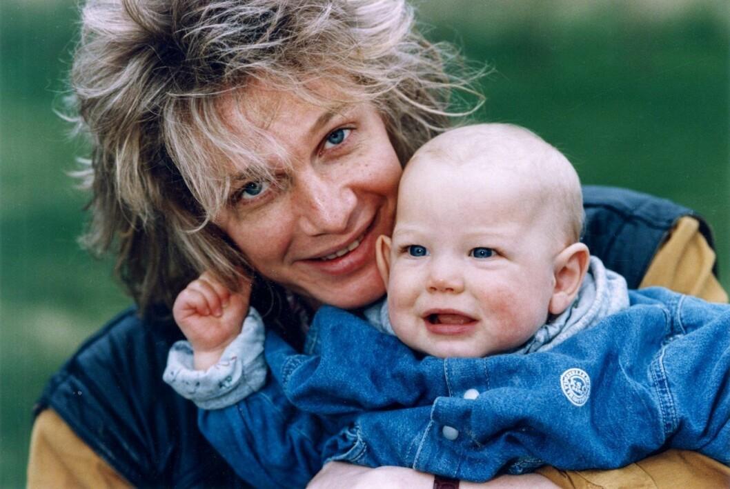Tommy Nilsson och sonen Kalle