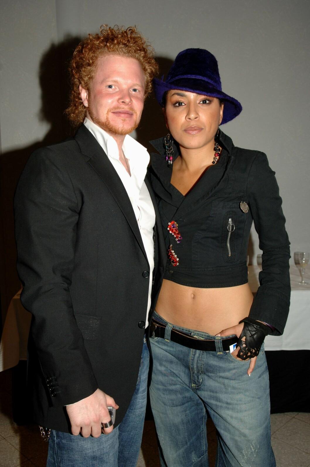 Daniel Lindström och Loreen.