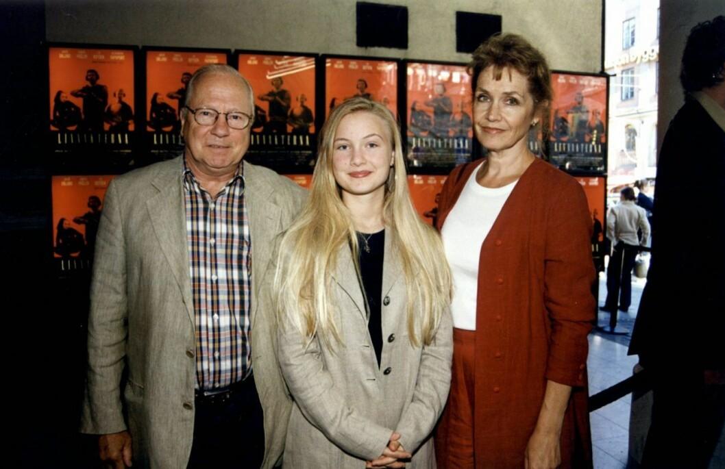 Ingvar Hirdwall m Agnes Hirdwall och Marika Lindström