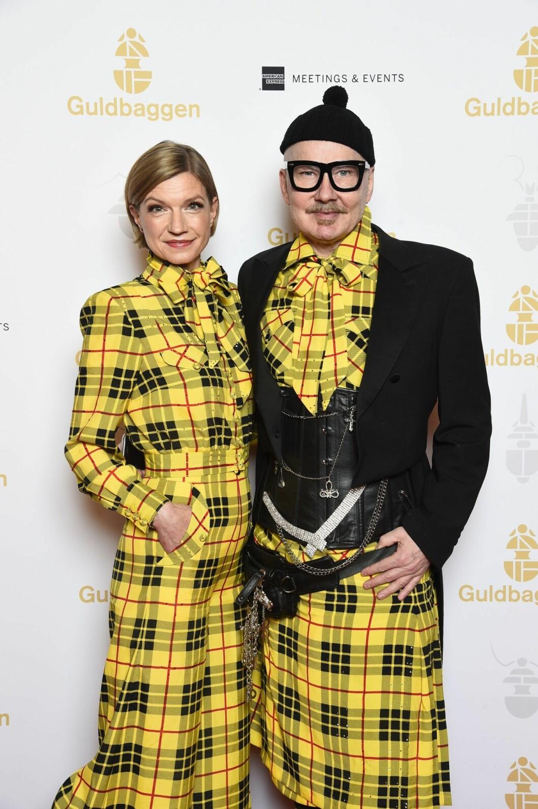 Cecilia Frode och Peter Englund
