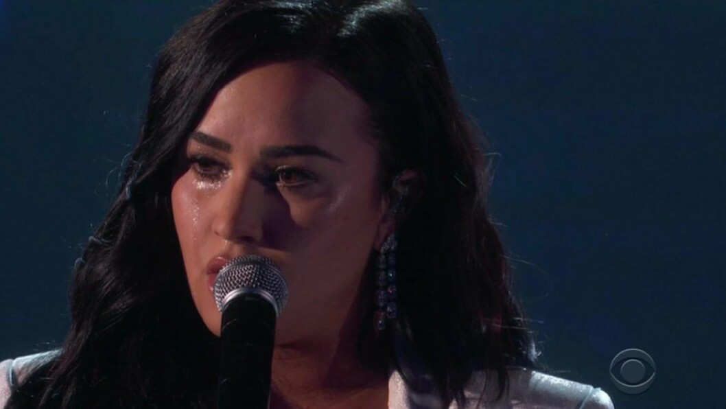 Demi Lovato på Grammy Awards 2020