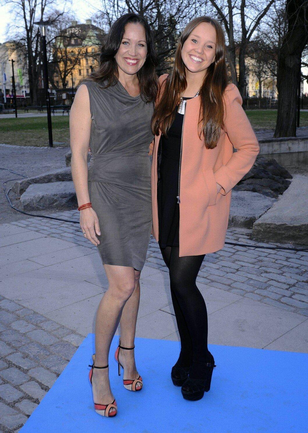 Renée Nyberg och dottern Emma