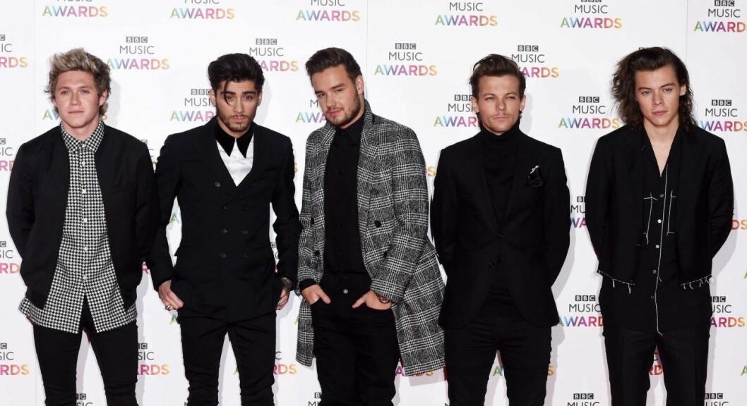 Medlemmarna i One Direction.
