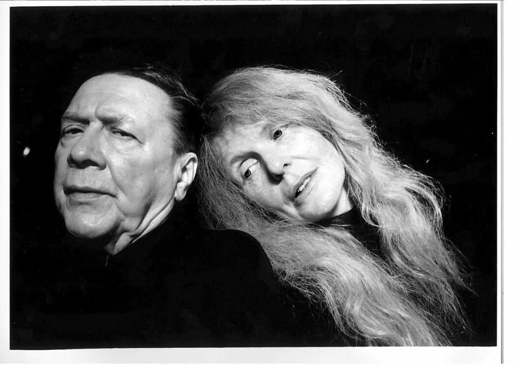 Allan Edwall och Kristina Lugn.