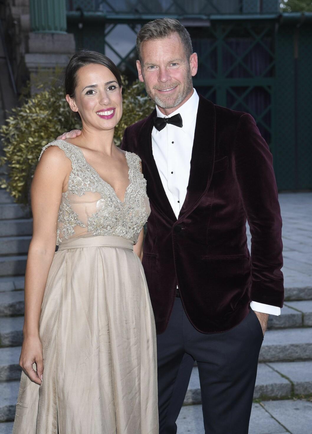 Mårten Andersson och flickvännen Stanislava Cvetkovic ska få sitt andra barn.