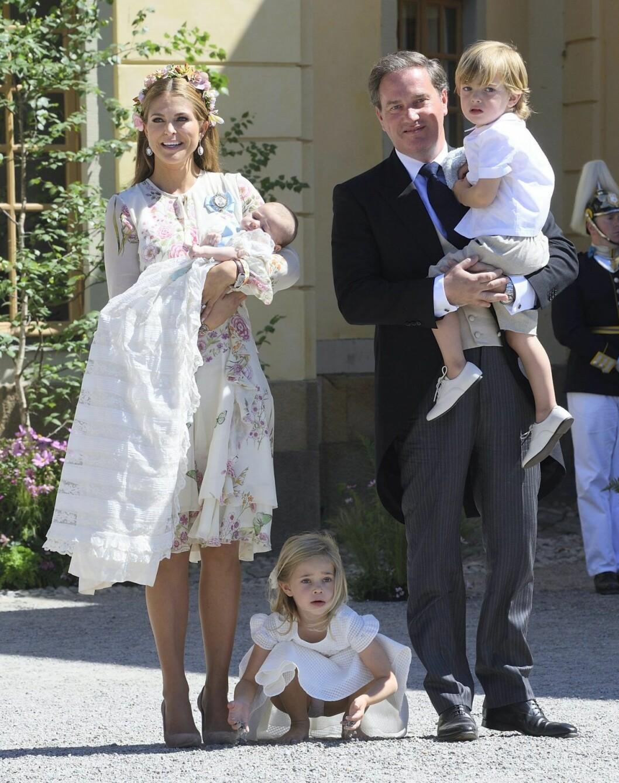 I juni döptes prinsessan Adrienne i Drottningholms kapell.
