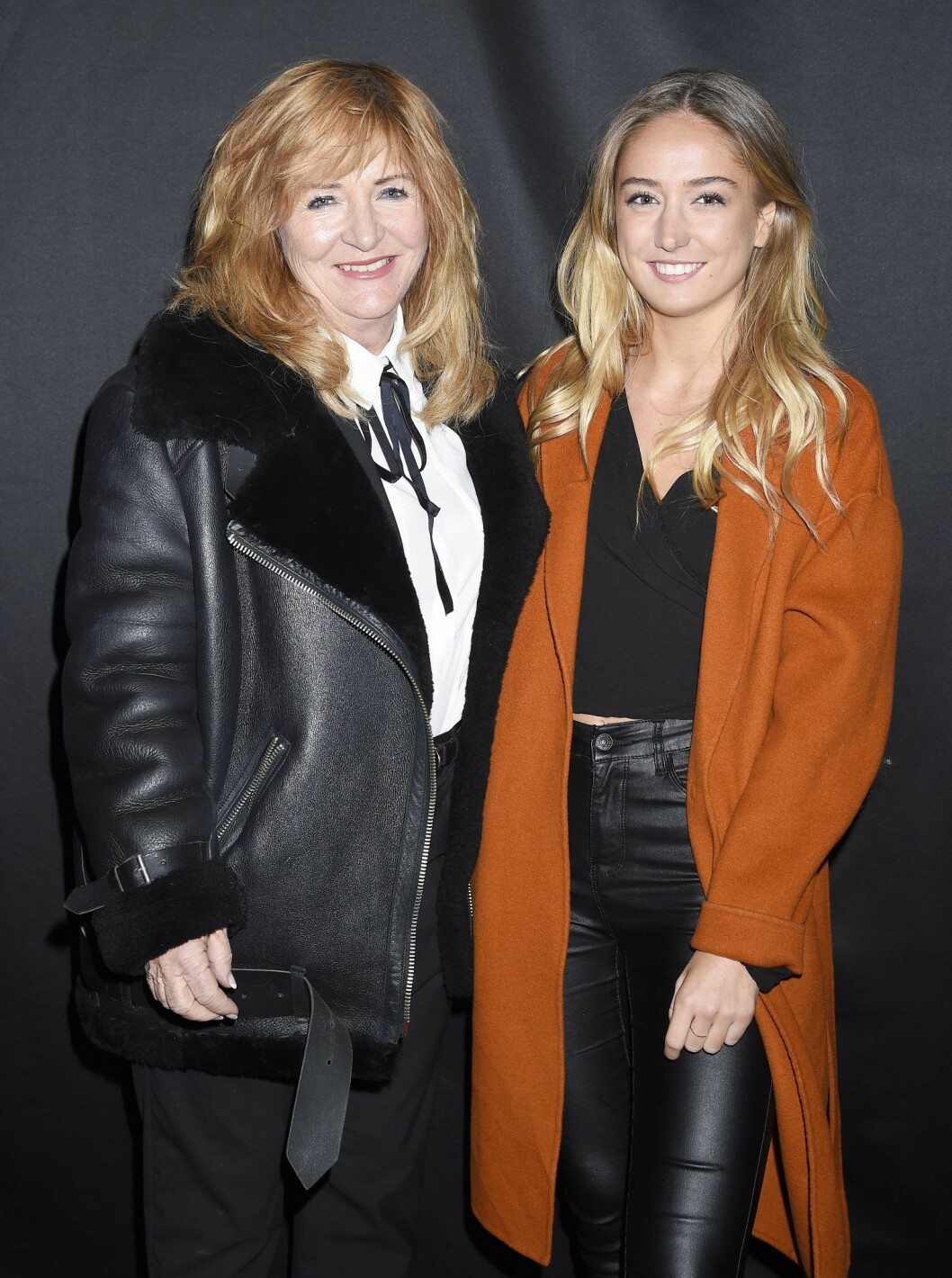 Malou von Sivers med dottern Julia.