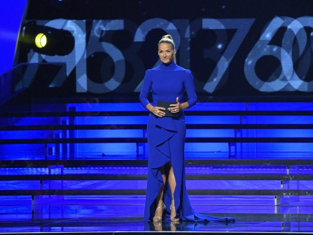 Senast kunde vi se Kristin Kaspersen som programledare för Idrottsgalan 2020.