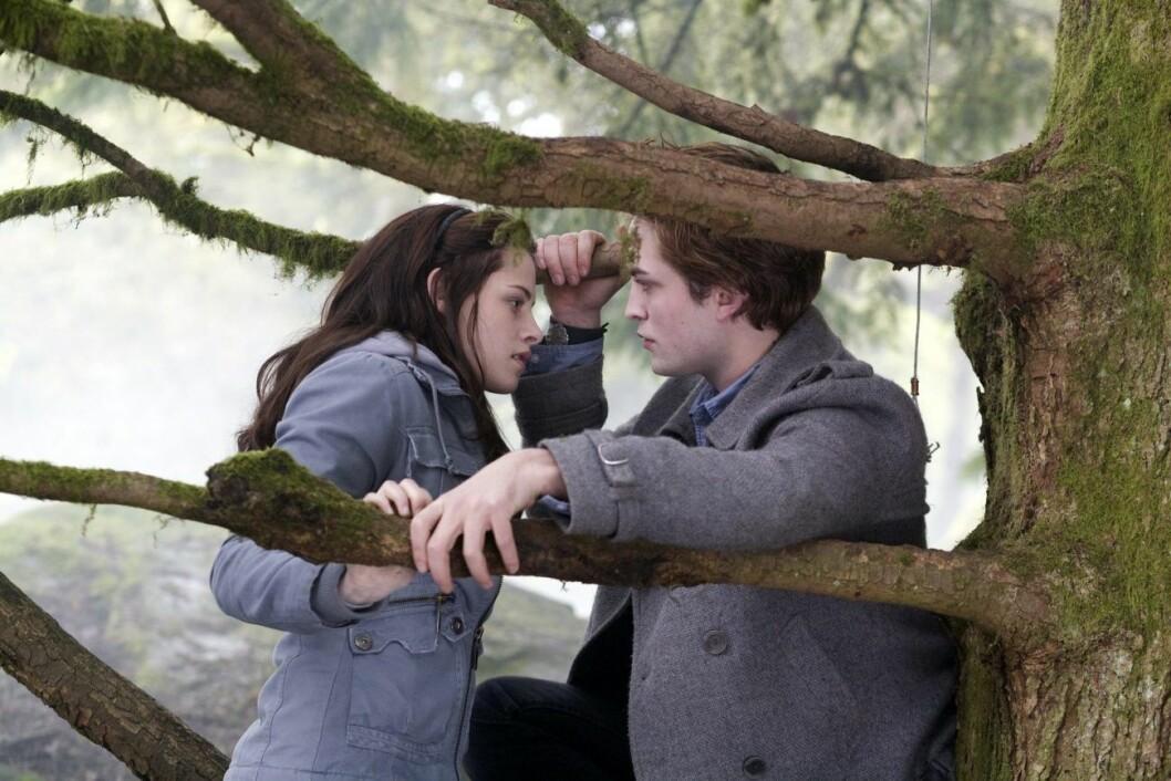 Kirsten Stewart och Robert Pattison spelar huvudrollerna i Twilight.