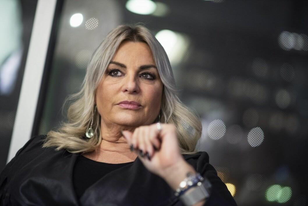 Helena Hysén i svart jacka