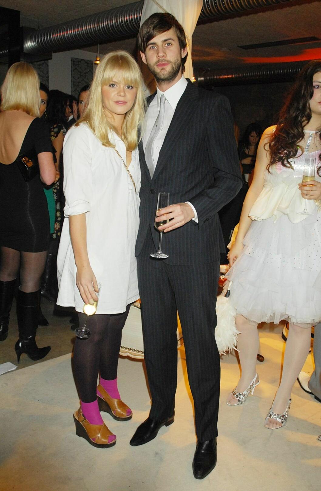 2008 hade Linda Lernström och Pär Lernström en något annorlunda look.