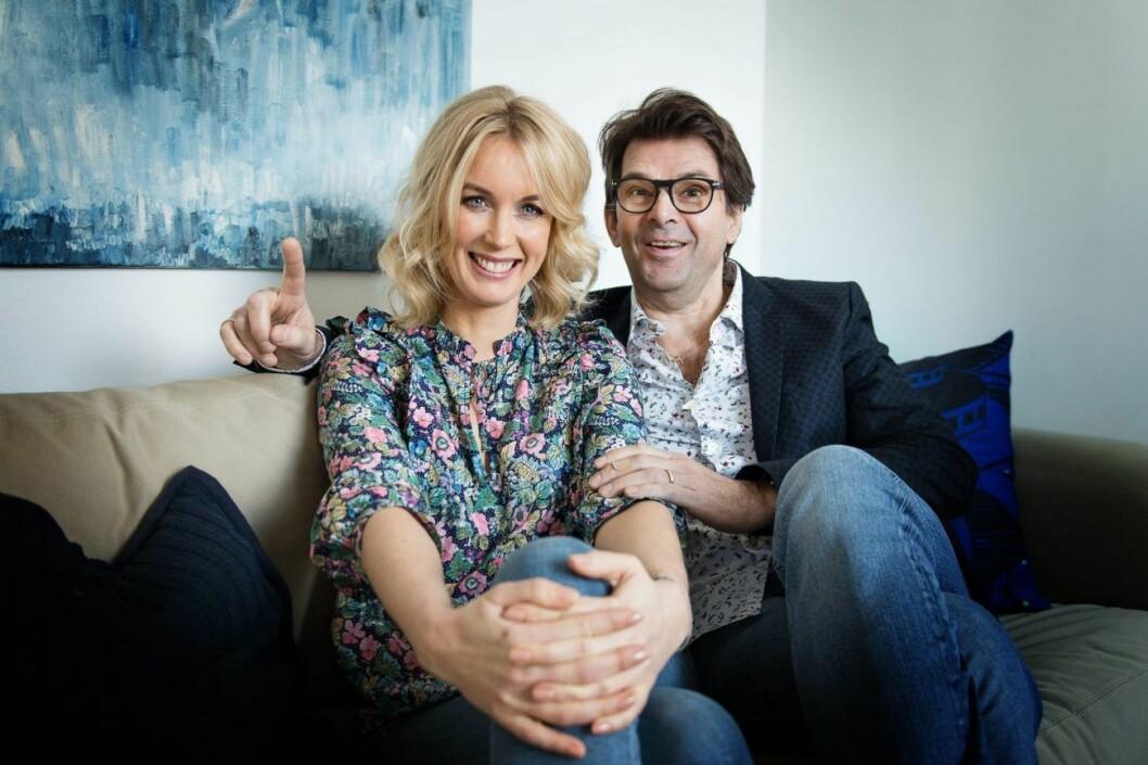 Jenny och Niklas Strömstedt trivs med att träffa andra par i Tillsammans med Strömstedts.