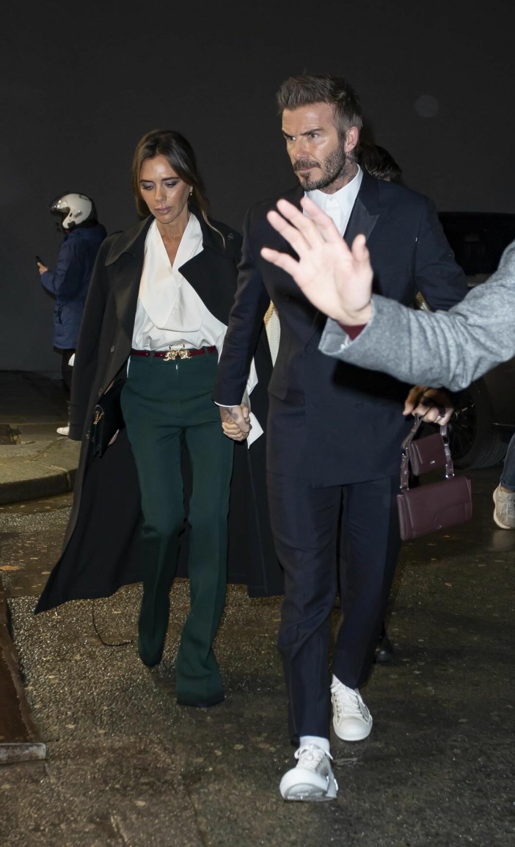 Victoria Beckham och David Beckham är goda för åtskilliga miljoner pund.