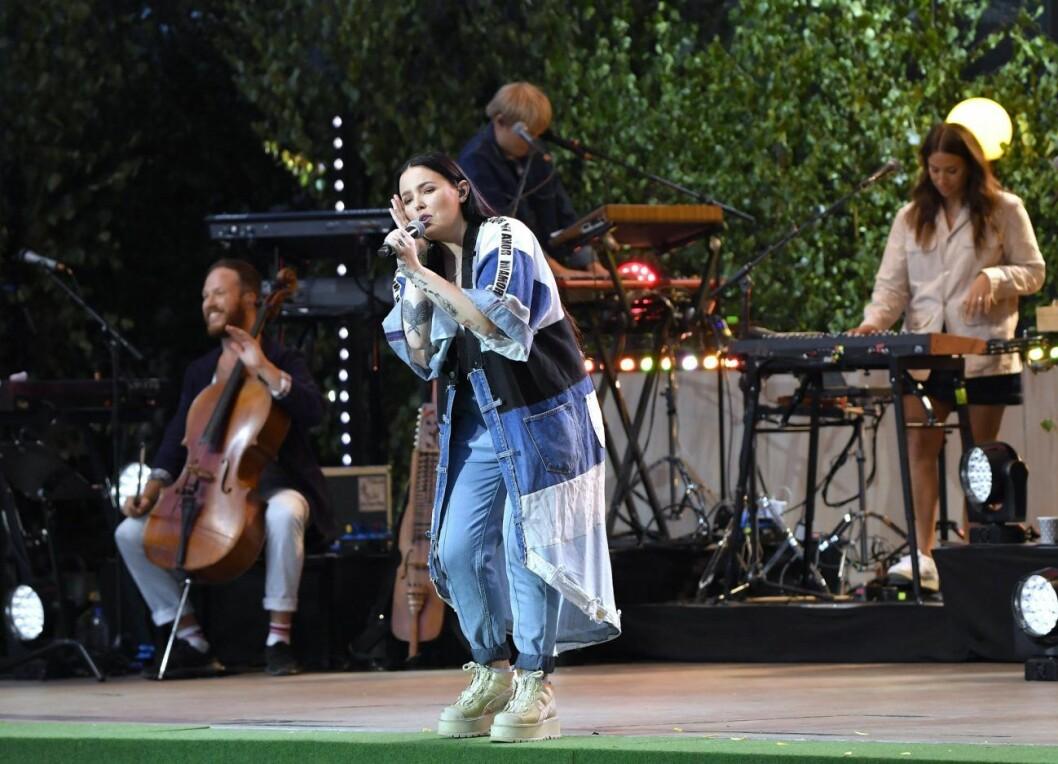Miriam Bryant på Allsång på Skansen 2019.