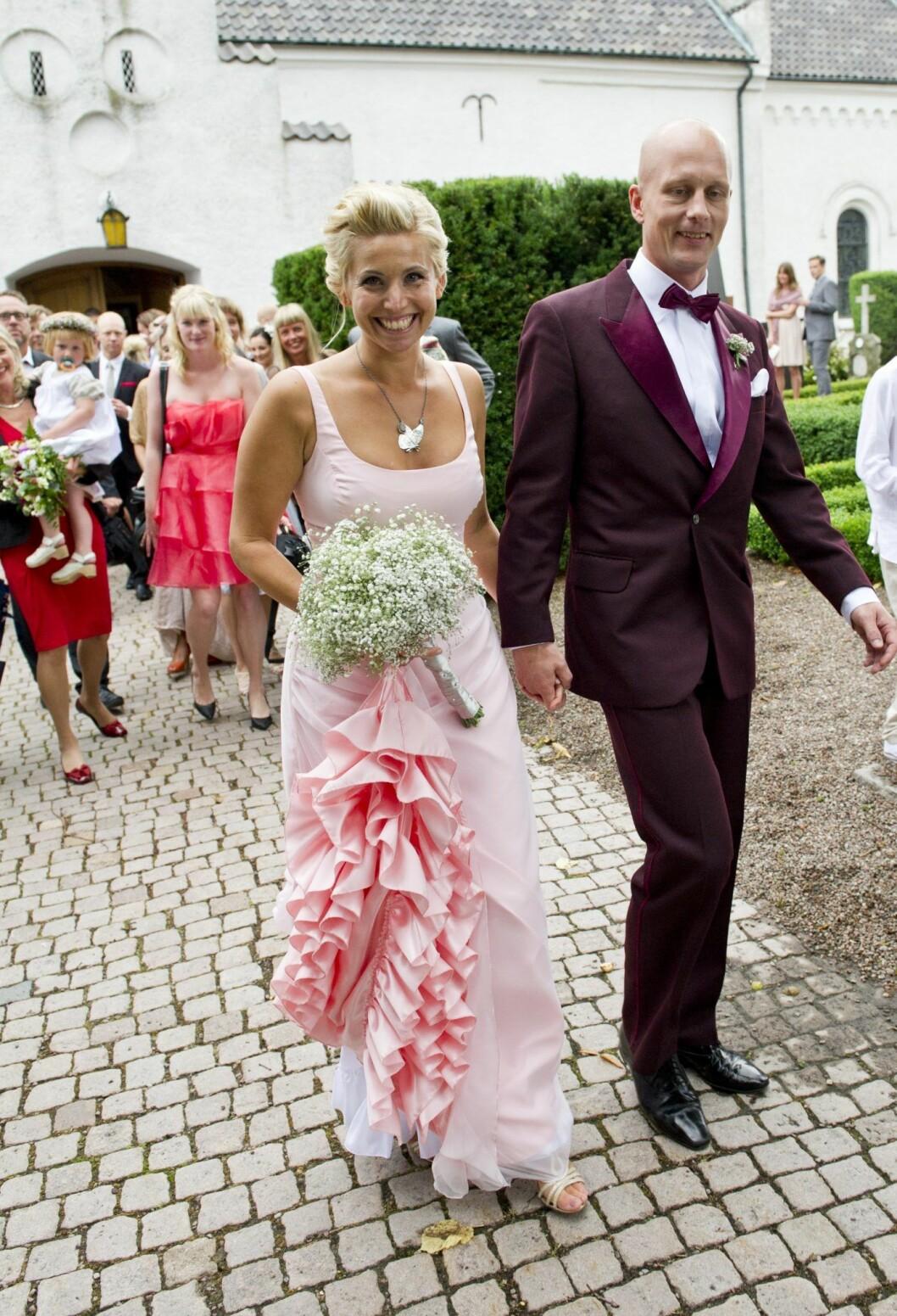 Tina Nordström och Martin Holmqvist