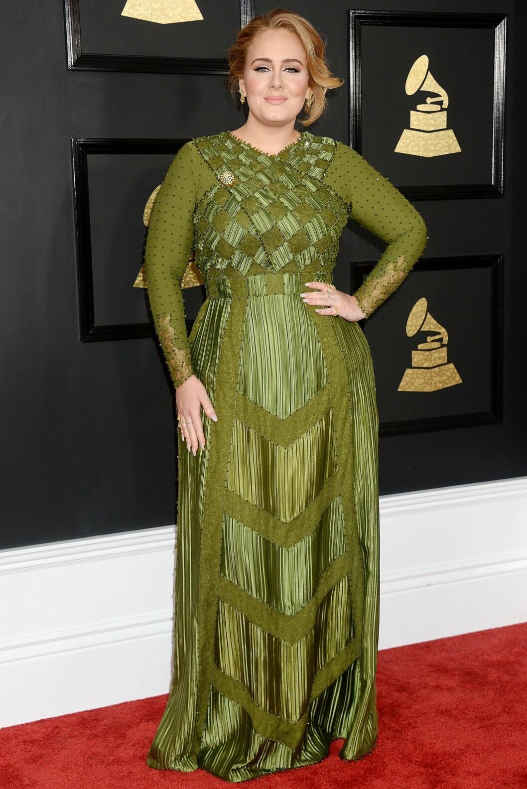2017 vann Adele en Grammy för Årets album.