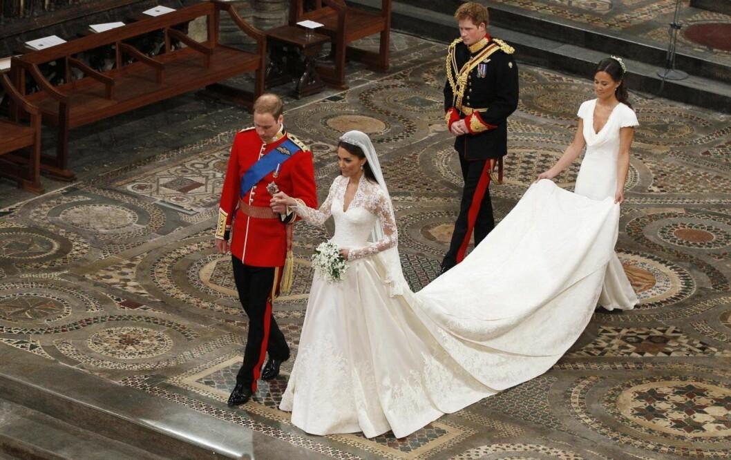 Prins Harry var best man när prins William gifte sig med Kate Middleton.
