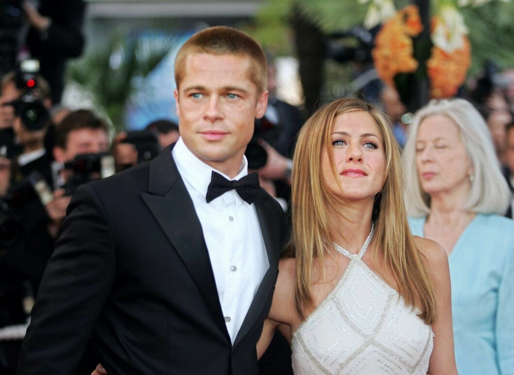 Brad Pitt och Jennifer Aniston 2004.